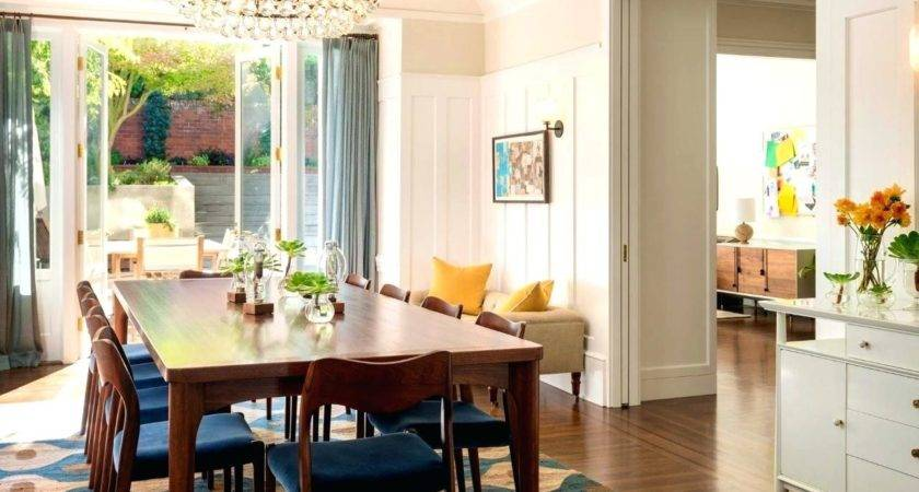 Eclectic Dining Room Sets Banquette