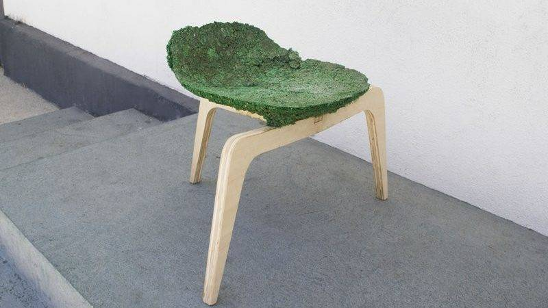 Eco Friendly Chair Made Left Over Materials
