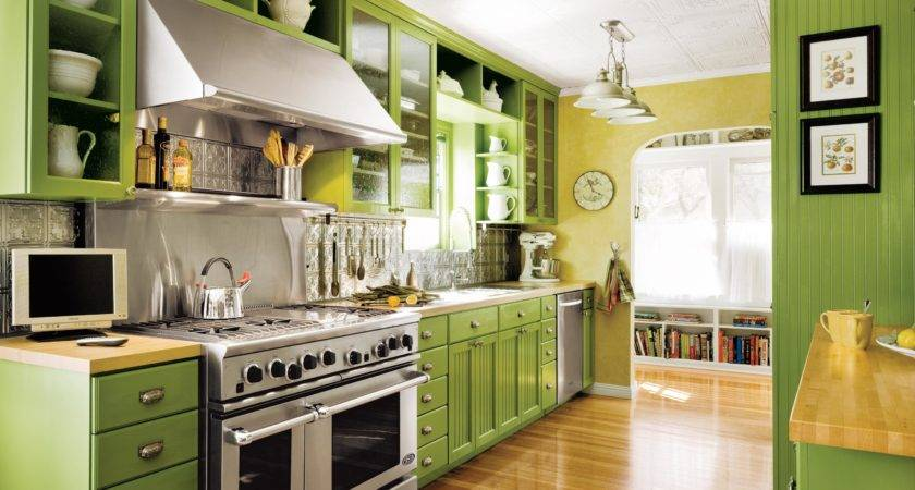 Editors Picks Our Favorite Green Kitchens Old House