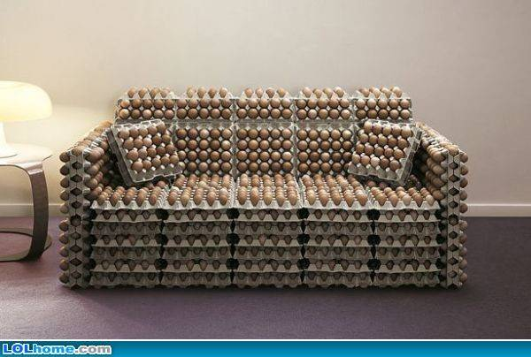 Egg Couch Funny Pic