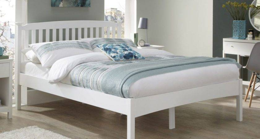 Eleanor Opal White Small Double Bed