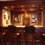Elegant Custom Home Bar Ideas Design