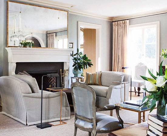 Elegant Living Rooms Neutral Colors Traditional Home