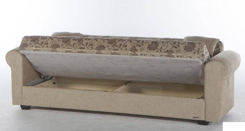 Elita Sofa Bed Sleeper Jasmine Beige