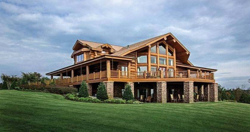 Energy Efficient Log Timber Homes