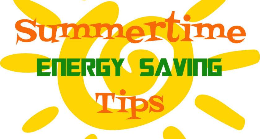 Energy Saving Tips Summertime Inheriting Our Planet