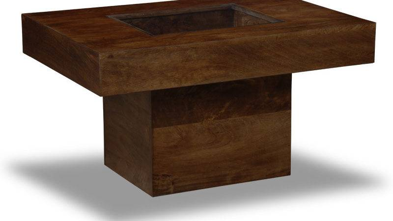 Enhancing Room Accent Small Wood Coffee Table