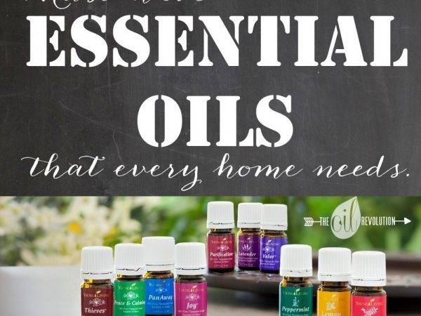Essential Oils Every Home Needs Lemon All Things