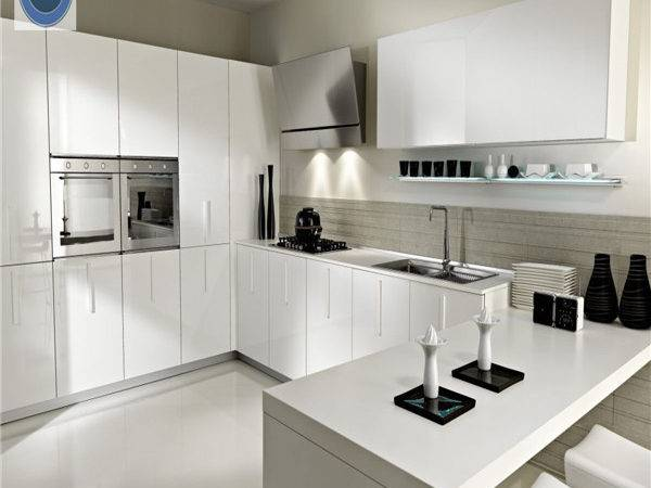 European Style High Gloss Modern Kitchen Design Best