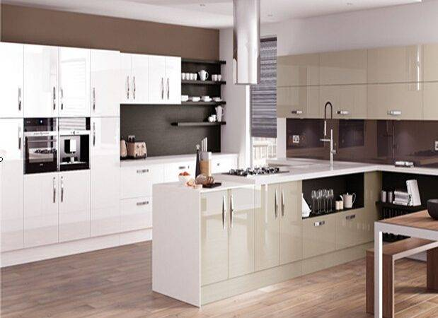 European Style Modern High Gloss Kitchen Furniture
