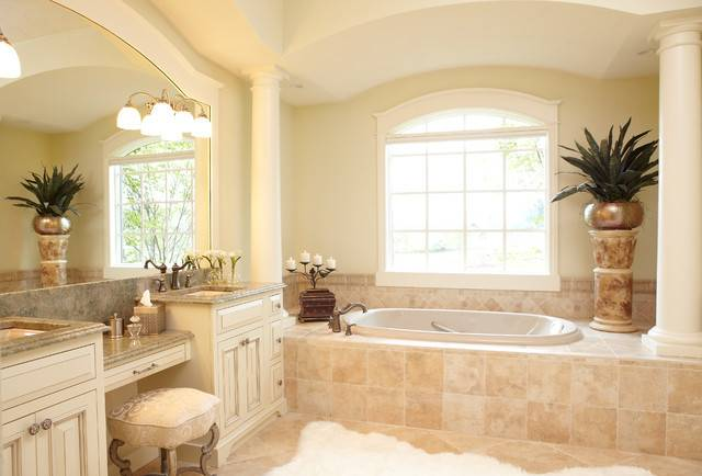 European Style New Home Traditional Bathroom Grand