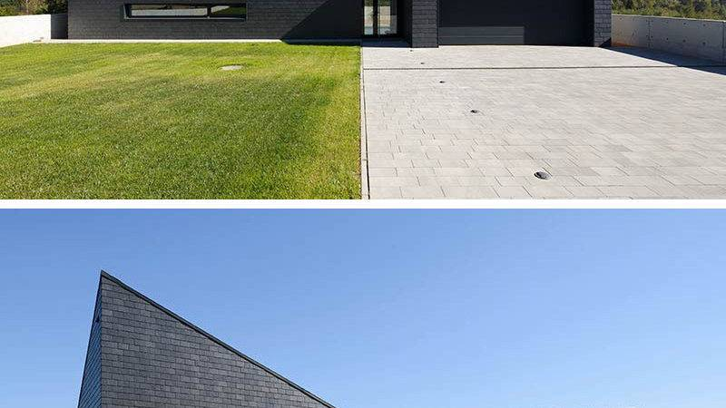 Examples Modern Houses Black Exteriors