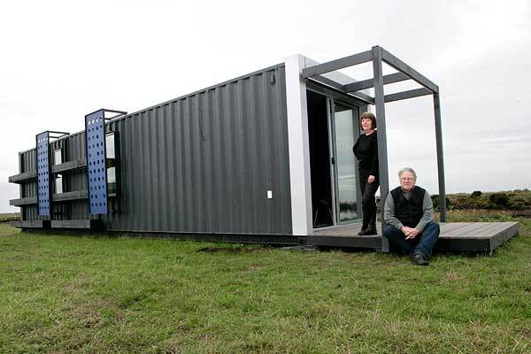 Excellent Shipping Container Home Built Less