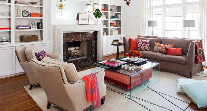 Exciting Living Room Furniture Layout Design