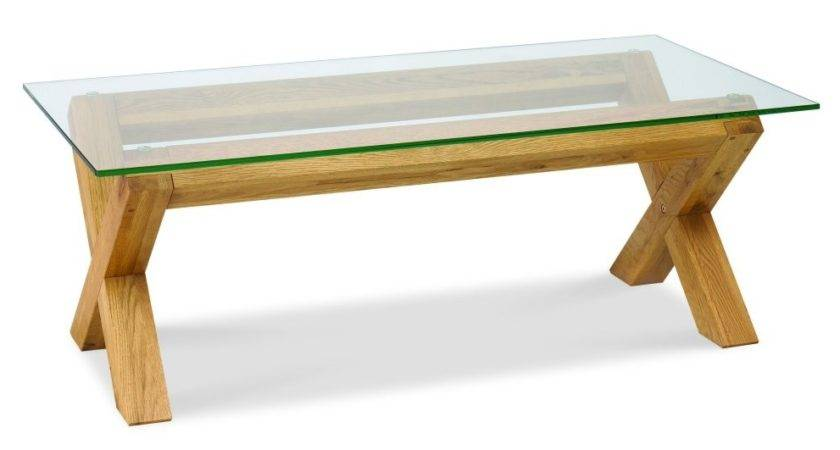 Exciting Modern Glass Top Coffee Table Design