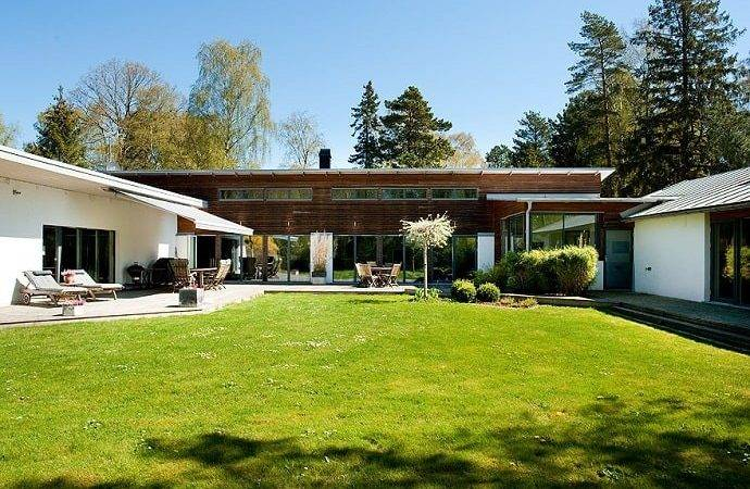 Exclusive Shaped House Beautiful Beach Sweden