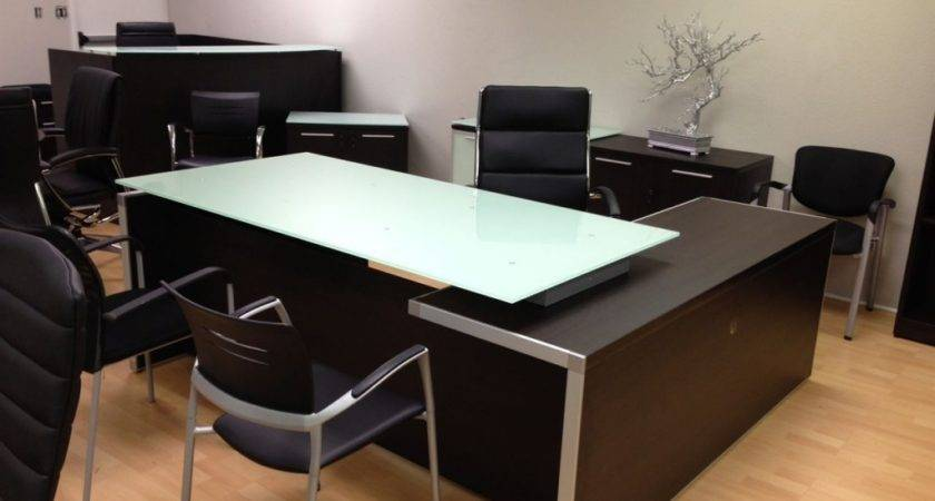 Executive Office Table Glass Top Crowdbuild