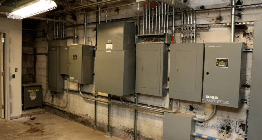 Existing Building Basement Electrical Room Chris Swann
