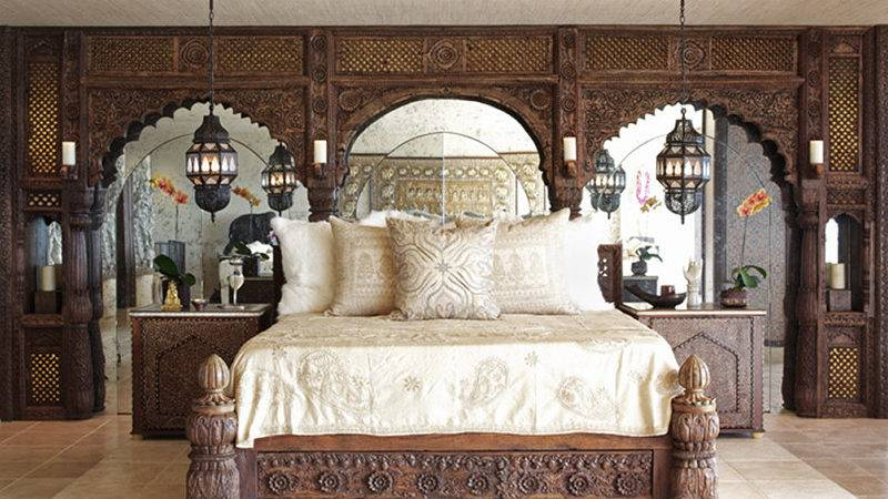 Exotic Bedroom Million Dollar Decorators Bravo Bed