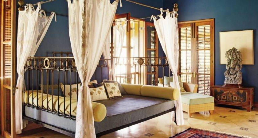 Exotic Bedroom Sunil Jasani Architectural Digest