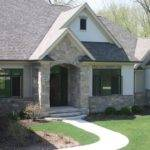 Exterior Stone Siding Stucco Traditional