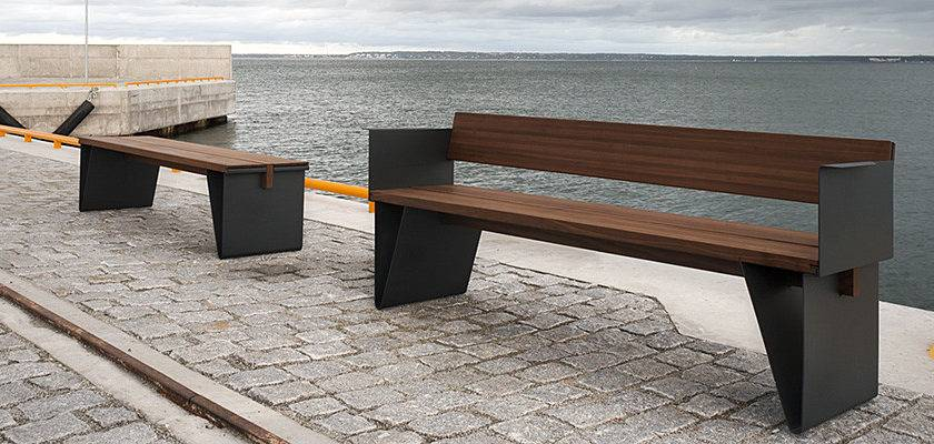 Extery Urban Furniture Park Benches Waste Bins