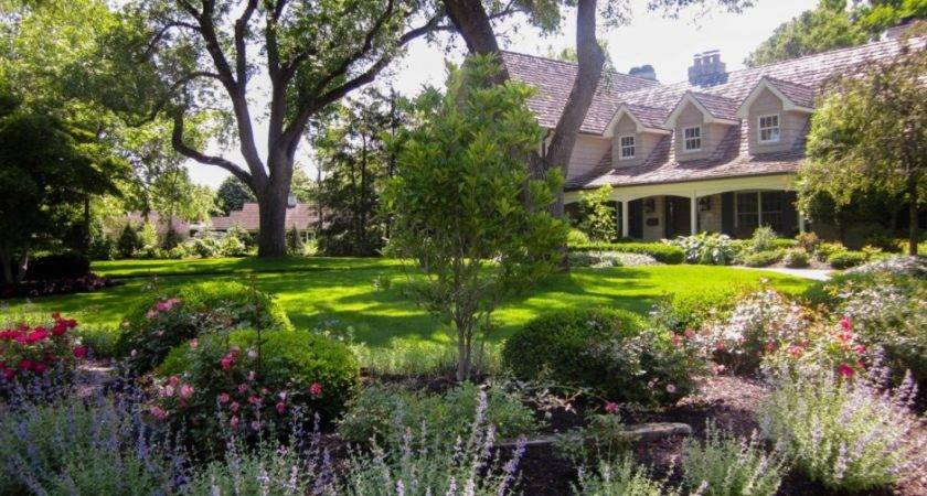 Extraordinary Landscaping Ideas Large Garden