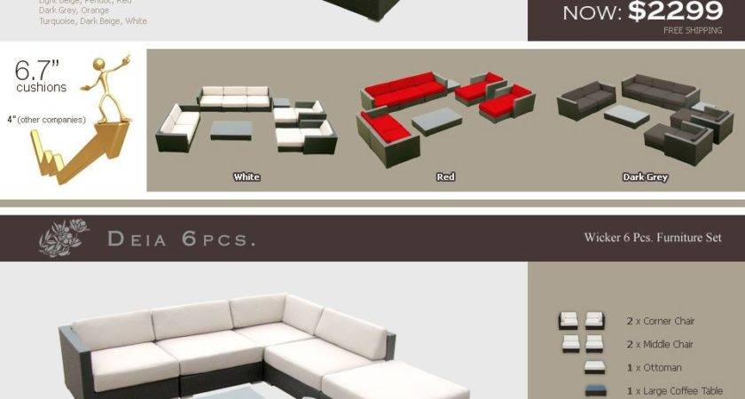 Extremely Comfortable Outdoor Furniture Sets Off