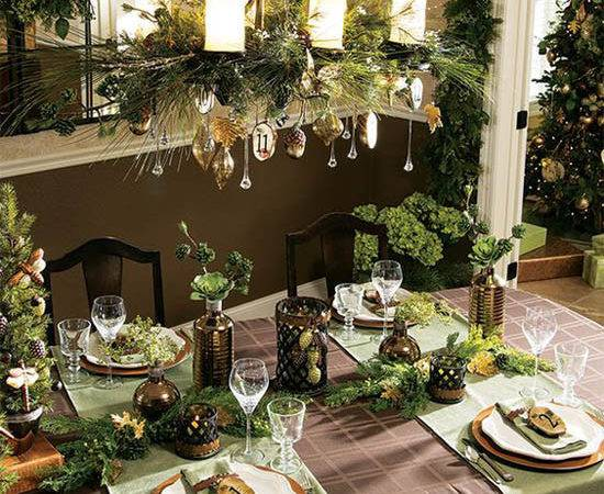 Fabulous Christmas Dining Room Decorating Ideas All