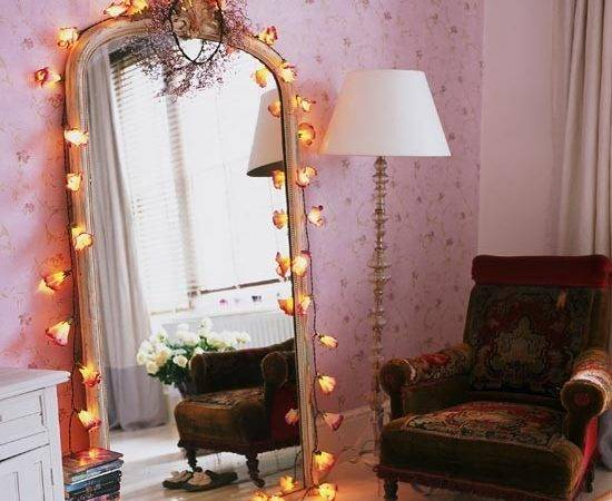 Fairy Lights Teenage Girls Bedroom Ideas Housetohome
