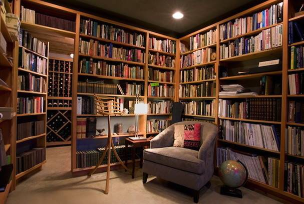 Fascinating Library Styles Contemporary Home