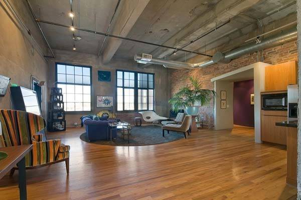 Fascinating Loft Occupying Old Flour Mill Denver