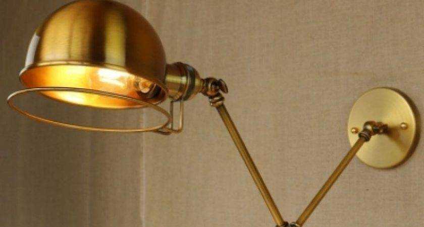 Fashion Style Wall Sconces Lamps Gold Industrial