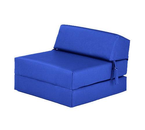 Faux Leather Fold Out Bed Single Double Futon Chair