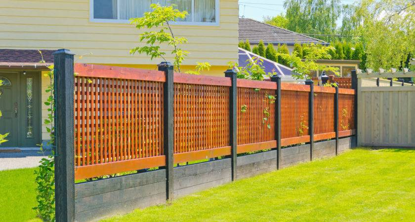 Fence Designs Styles Patterns Tops Materials Ideas