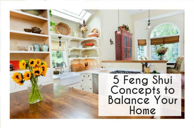 Feng Shui Concepts Balance Restore Your Home