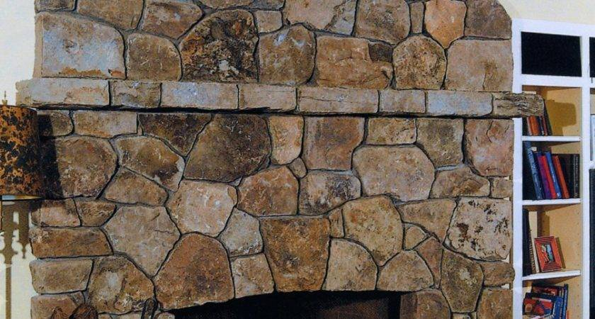 Fieldstone Fireplace Dewey Fladd
