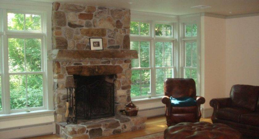 Fieldstone Fireplace Ideas