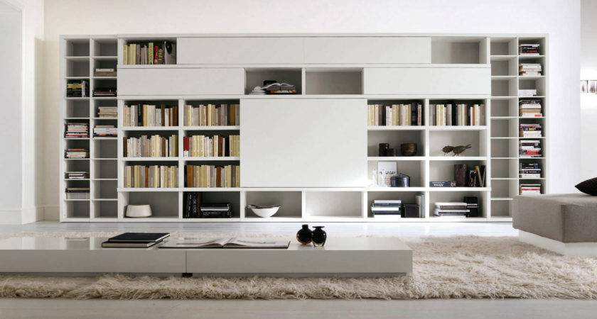 Fine Examples Modern Bookcases