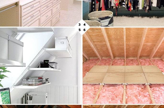 Finished Unfinished Attic Storage Ideas Home Tree Atlas