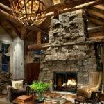 Fireplace Design Focal Point Cabin Home