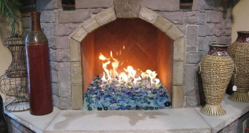 Fireplace Rocks Gas Thefunkypixel
