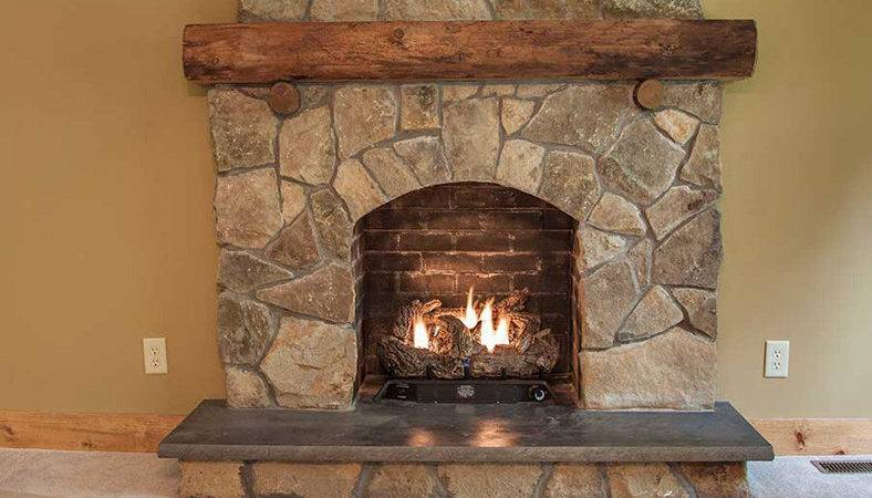 Fireplace Stone Work Home Design