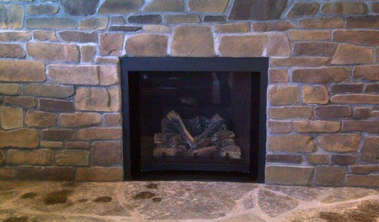 Fireplace Stone Work Interior