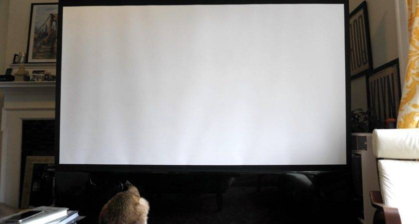 Fit Inch Projector Setup Nyc Apartment