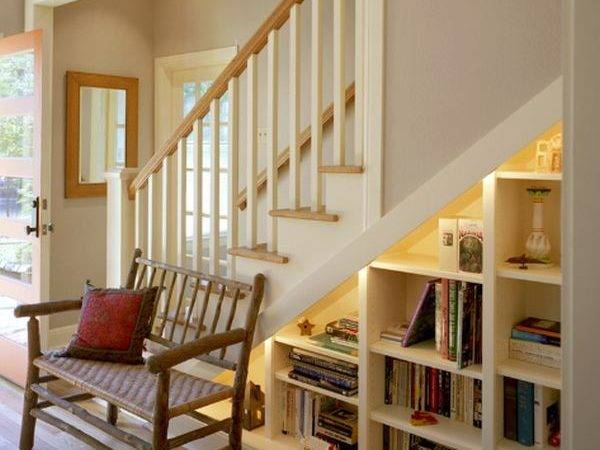 Five Ideas Using Space Under Stairwell