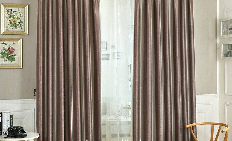 Flame Retardant Blackout Stripe Hotel Curtains Drapery