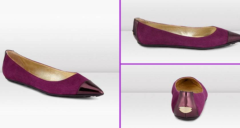 Flat Shoes Designer Collection Mirror Leather Flats