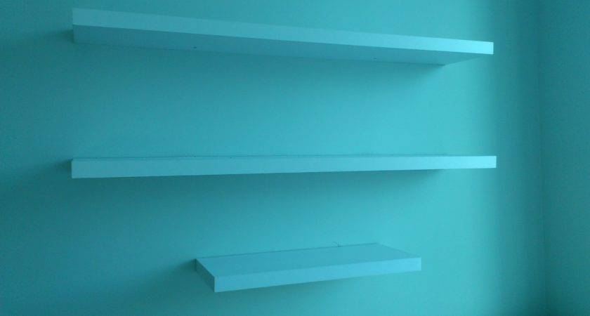 Floating Shelves Handy Gal Tools Projects