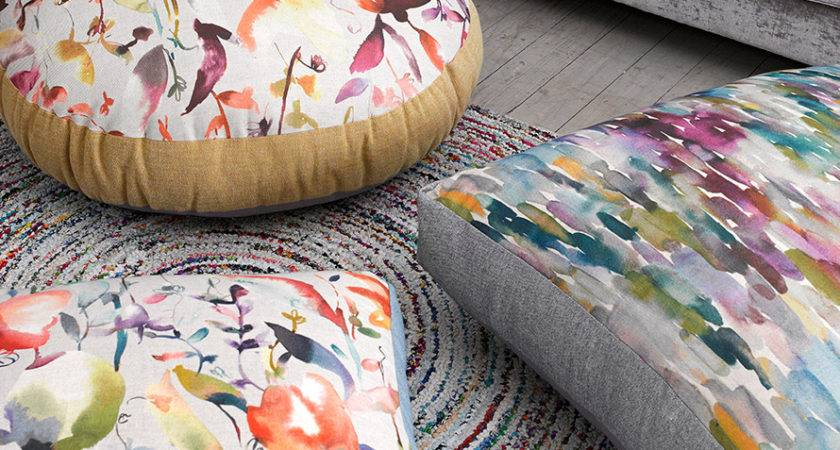 Floor Cushions Ourcozycatcottage
